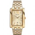 Sekonda 3427 Rectangular Gold plated Stainless Steel Bracelet Watch